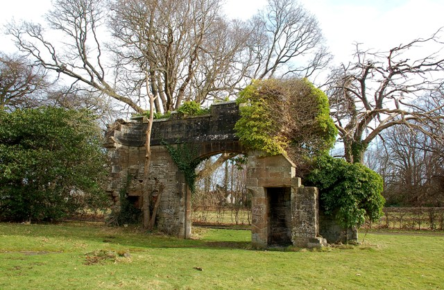 Remains of Cambusdoon House