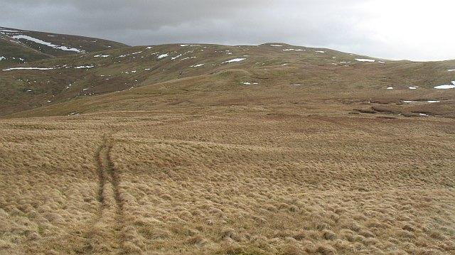 South side of Ballaman Hill