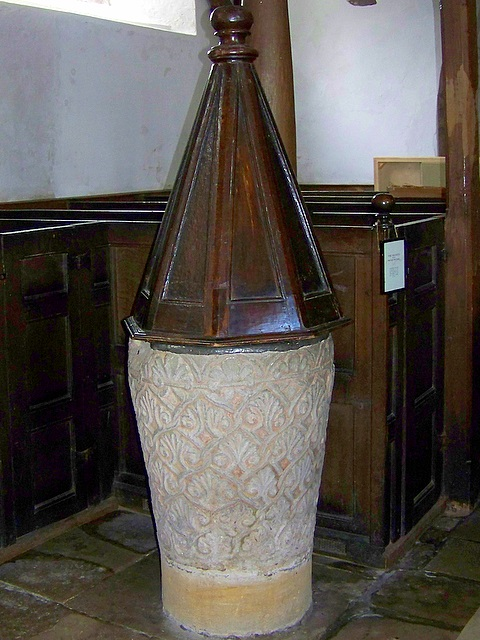 Font, Church of St Mary the Virgin, Puddletown