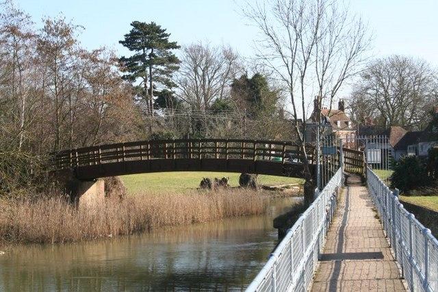 Bridge over the mill stream