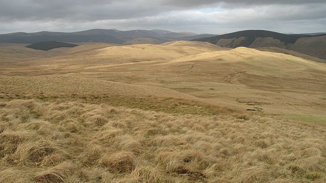 North side of Ballaman Hill