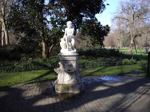 The Greek Boy Fountain