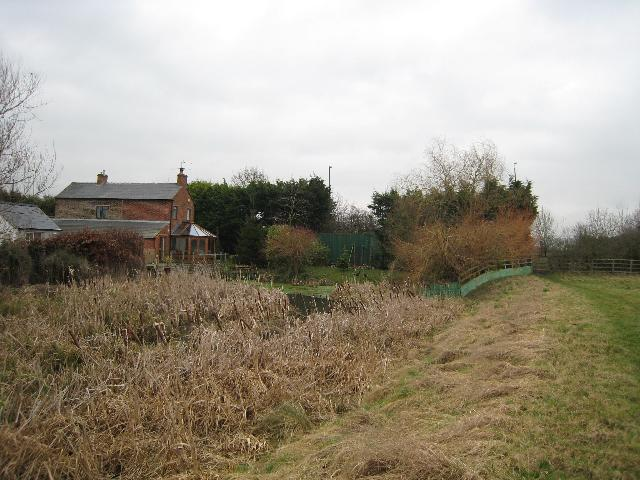 Stroudwater Canal blockage at Whitminster