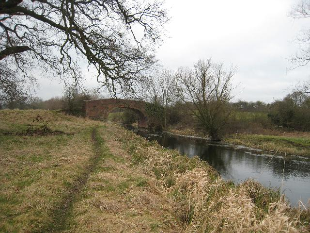 Occupation bridge over the Stroudwater Canal
