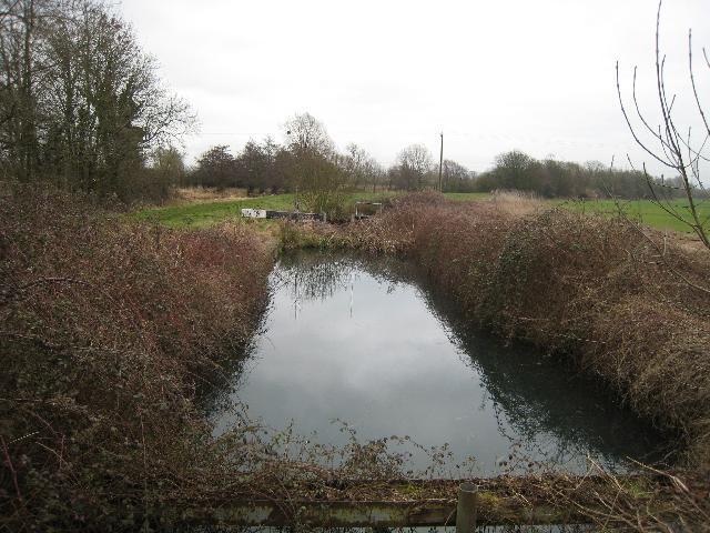 Stroudwater Canal lock at Wheatenhurst