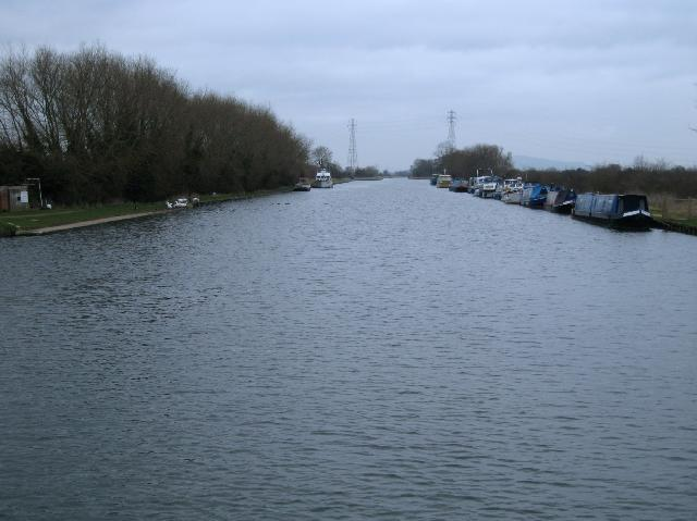 Gloucester and Sharpness Ship Canal at Saul Junction