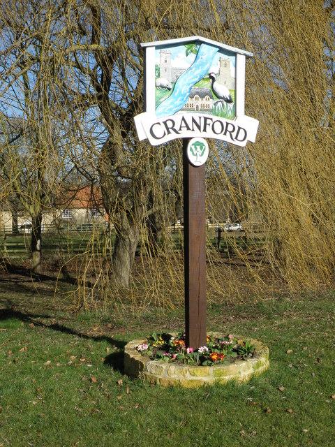 Cranford Village sign