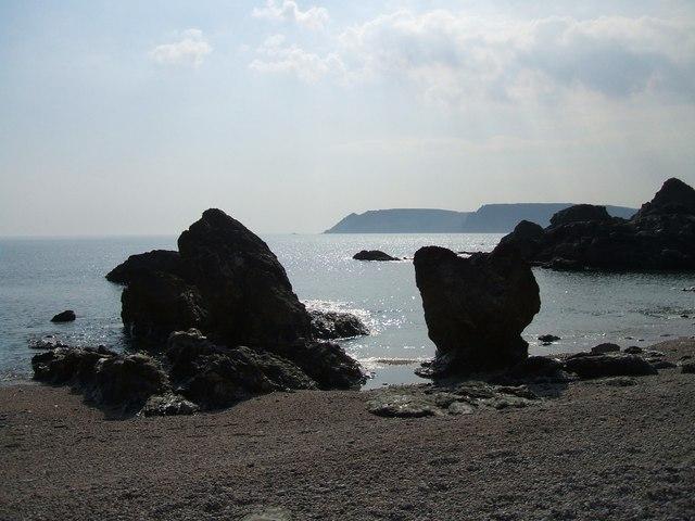 Rocks at Moor Sands