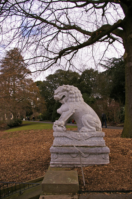 Chinese Guardian Lion, Kew Gardens, Surrey