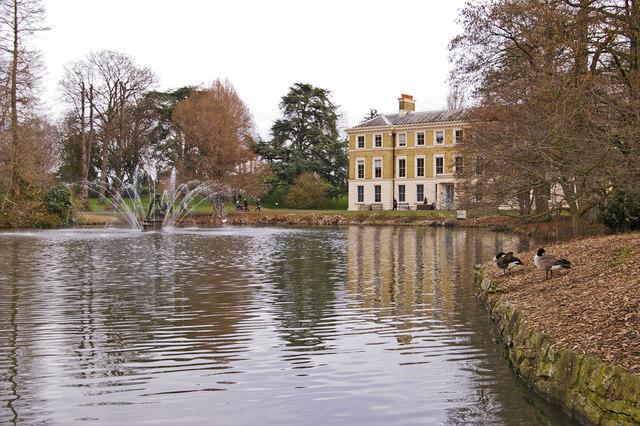 Lake, Kew Gardens, Surrey