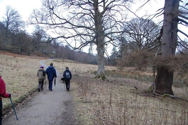 Footpath at Hawse End