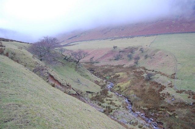High Nook Beck below Black Crag