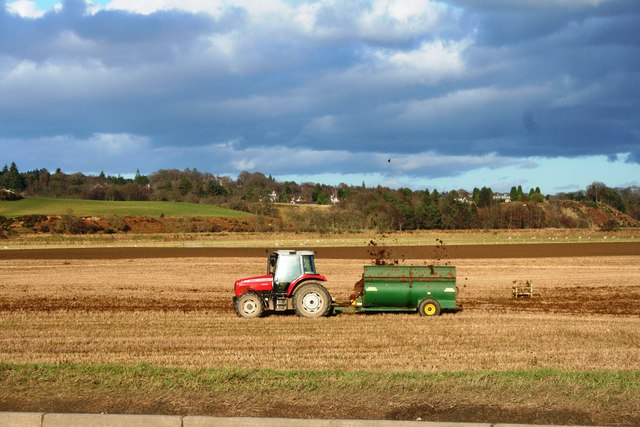 Muck Spreading at Milltimber