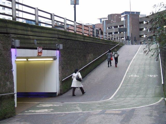 Cowcaddens underpass