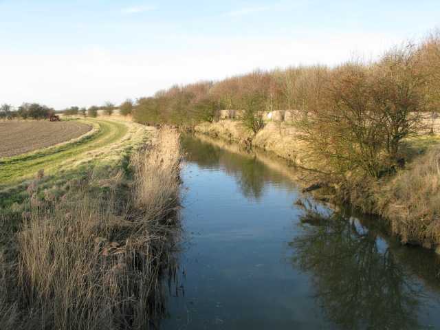 Looking NW along the River Wantsum