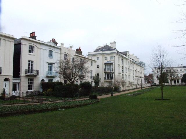 Terraces by Dane John Garden, Canterbury