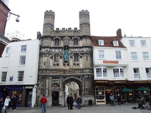 Christ's Church Gate, Canterbury