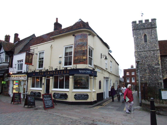 The Cricketers, Canterbury