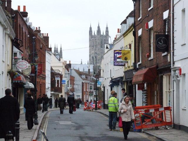Castle Street, Canterbury