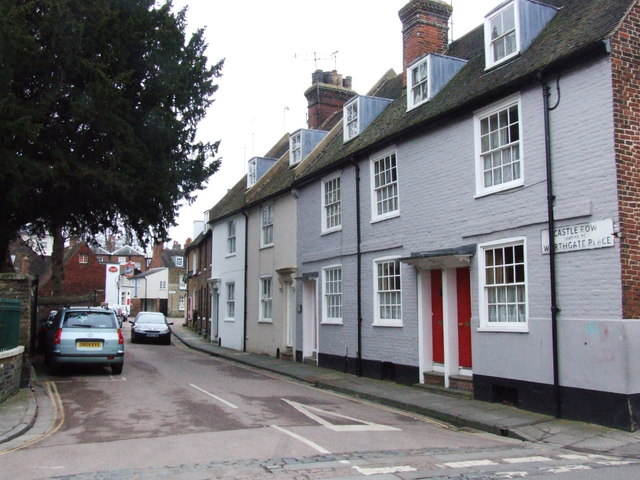 Castle Row, Canterbury