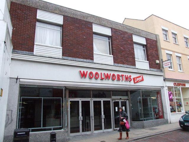 Woolworths RIP, Faversham