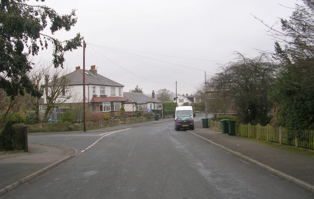 Brantcliffe Drive - viewed from the Grove
