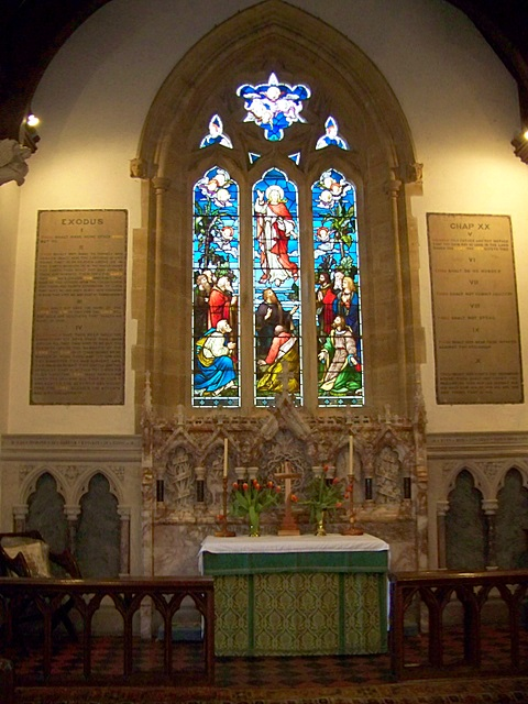 Interior,  Church of St John the Evangelist, Tincleton