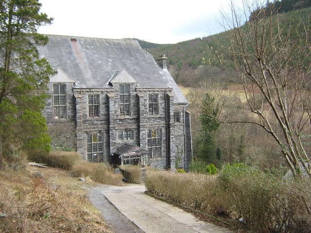 Chapel building outside Corris
