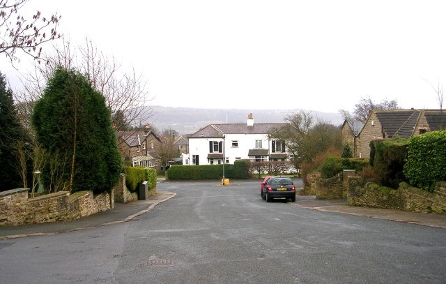 Belmont Rise - from Belmont Close