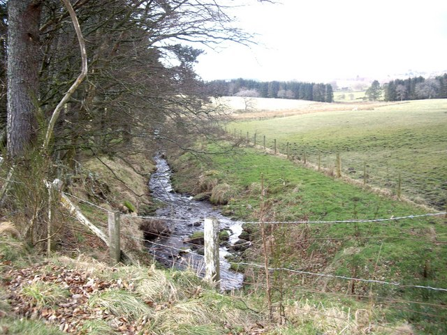 Downstream Drumlasie Burn