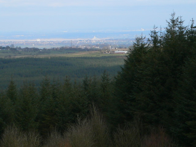 View from Llandegla Forest