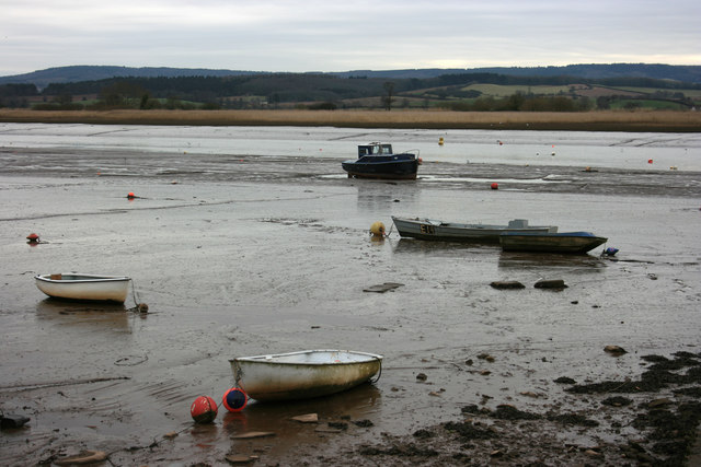 River Exe at low tide