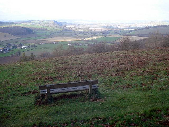 Seat on Yatton Hill