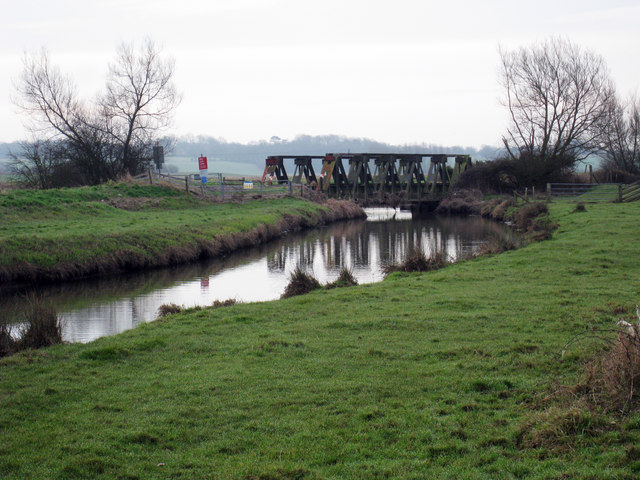 Railway Bridge over Newmill Channel