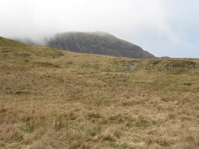 Looking across to Gau Craig