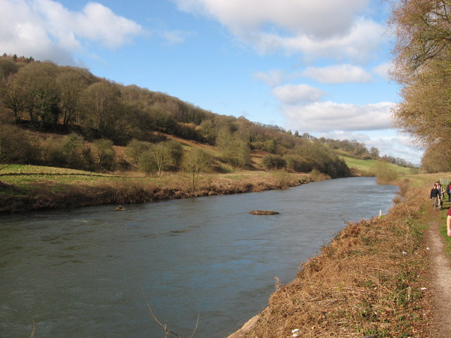 River Wye near Redbrook