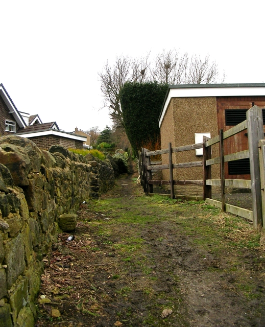Footpath - West Lane