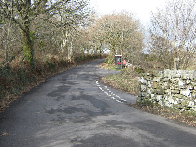 Road junction at Tabor