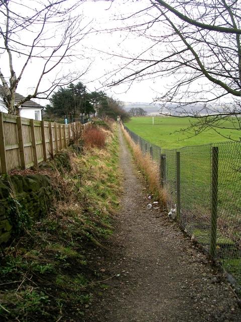 Footpath - West Lane