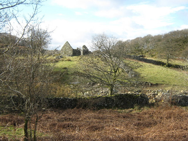 Ruined barn near Tabor
