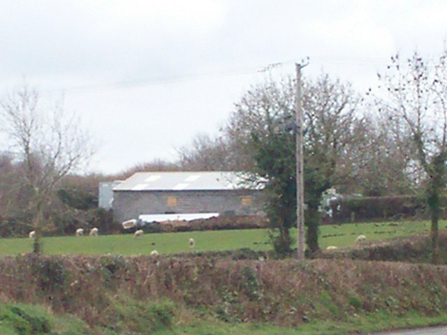 Side view of Carna Joinery workshop, Llanteg