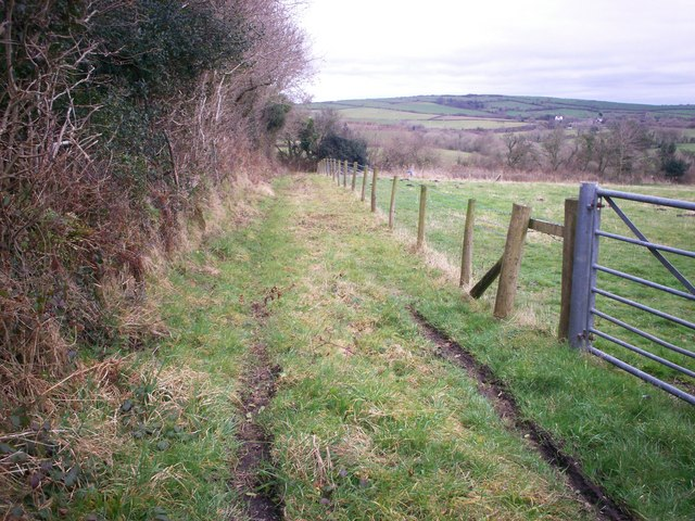 Lane to Sewage Works, Allen's Lane, Llanteg