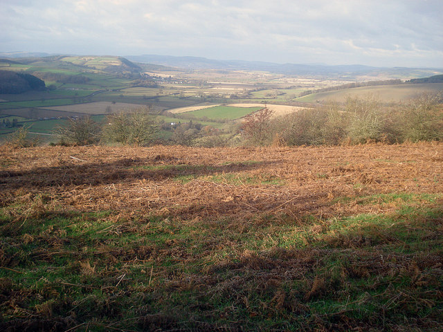 View from Yatton Hill to Wigmore Glacial Lake
