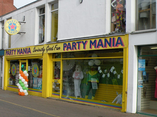 Nearly St Patrick's Day at Party Mania