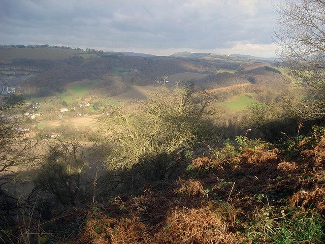 Croft Ambrey hillside