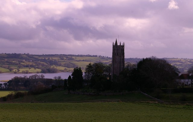 St Andrew's Church and Blagdon Lake