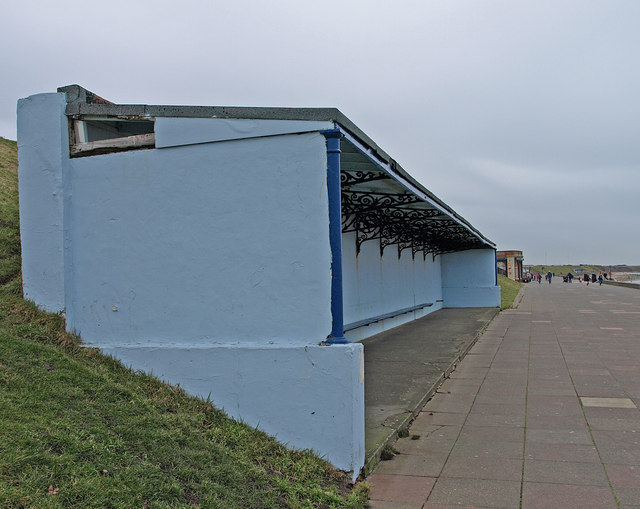 Promenade Shelter, Whitley Bay