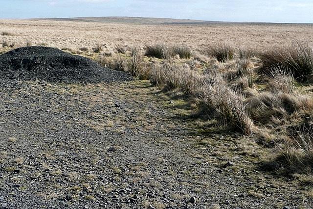 Empty moorland