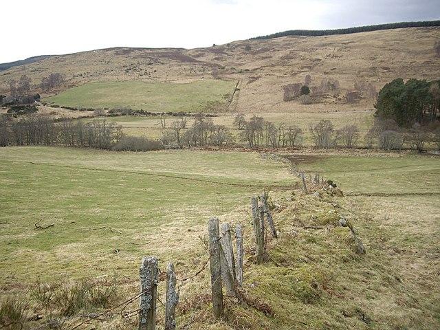 View towards Balnacraig Hill