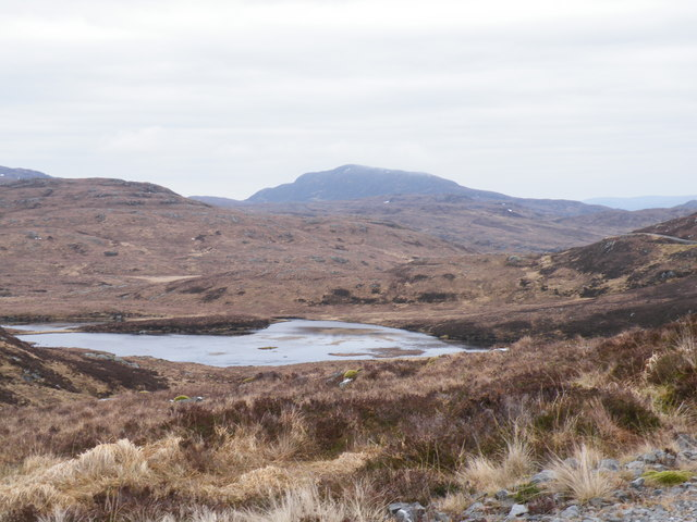 Looking NE across Moorland along the Route of Track